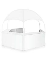 Portable White Dome Booth Canopy