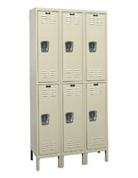 Steel Lockers with 4 Hooks