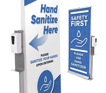Commercial-rated hand sanitizer solutions