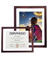 Espresso Floating Picture Frame