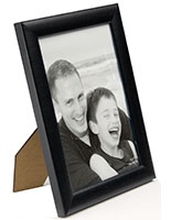 Black Wood Photo Frame