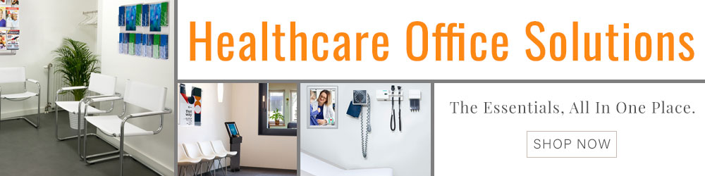 Browse our extensive selection of healthcare-targeted displays, literature holders, and fixtures