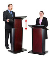 Height Adjustable Podium