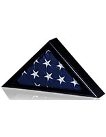 Black American Flag Case