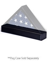 Flag Case Stands for 5' x 9-1/2' Ensign Frames