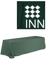 tablecloth with logo
