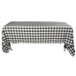 Black & White Tablecloth