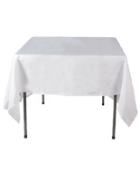 White Restaurant Tablecloths