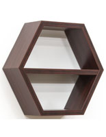 Honeycomb Shelving Unit for Retail