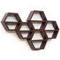 Modern Hexagon Honeycomb Shelving