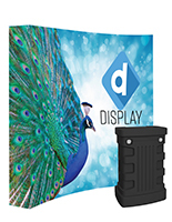Lightweight Backlit Pop Up Fabric Wall