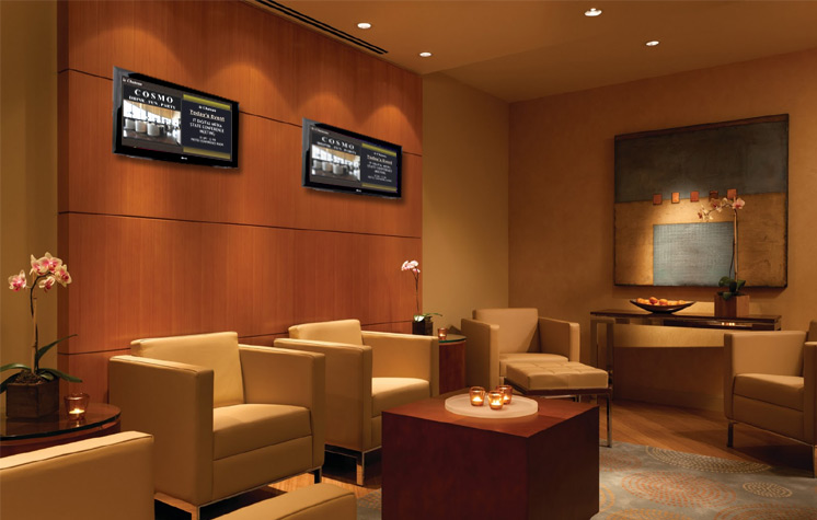 Waiting Areas Are Key Places For Electronic Signage
