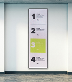 Cleaning Digital Signage