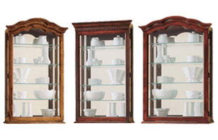 Charmant Hanging Display Cabinet. Wall Mount Curio Cabinets