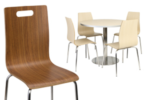 cafeteria table sets