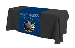 Table covers for college fairs