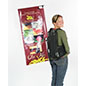 Advertising Backpack Signage Set with double sided graphics