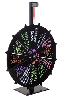 Prize Wheel Idea for Employee Engagement