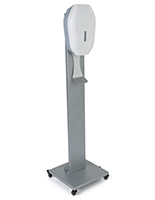 15.75 inch x 63 inch 5L rolling sanitization station