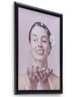 18 x 24 Black Outdoor Frame for Posters with Pop-Open Edges