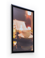 Black 20 x 30 black all-weather poster frame