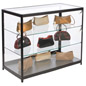 "Aluminum Display Case Counter, 23.75"" Overall Depth"