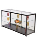"Retail Display Counter with LED Lights, 72"" Overall Width"
