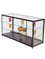 """Retail Display Counter with LED Lights, 23.75"""" Overall Depth"""