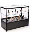Illuminated Glass Merchandise Counter, Tempered