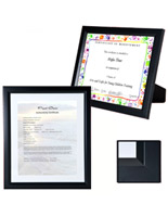 Black Document Frame