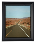 "11""x14"" Black Frame with Lens for Protection"