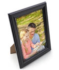 "Black 8.5"" x 11"" Frame with Rear Loading Style"