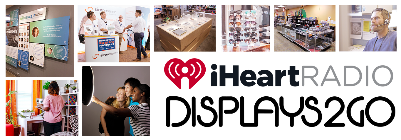 Displays2go iHeartRadio Special Insider Savings