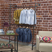 industrial rustic merchandising displays