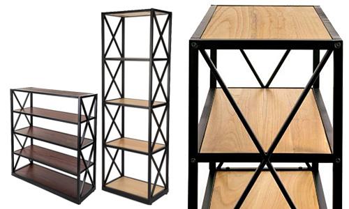 Etegere-style bookshelves