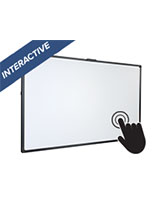 "86"" aluminum interactive smart multi-touch whiteboard"