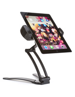 Tablet Countertop/Wall Mount, Folds Flat