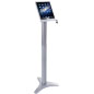 Silver iPad Trade Show Stand