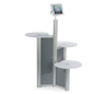 iPad Retail Display Stand with 3 Tabletops