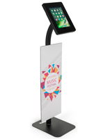 Custom Branded iPad Security Kiosk for Trade Shows
