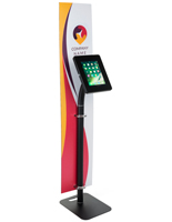 Custom Branded Tablet Security Kiosk with Standard Security Slot