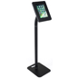 Floor to Counter Public Tablet Holder for iPads