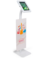 Floorstanding Custom Branded iPad Security Stand