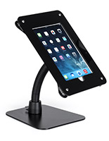 Black multi-configuration mount for iPad/tablet