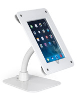 White wall/counter mount iPad frame