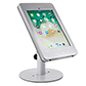 Countertop locking iPad Pro tablet holder with covered home button