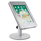 Countertop iPad Pro tablet holder with exposed home button