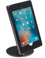iPad Pro POS Display with Weighted Base