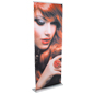 "33"" Retractable Vinyl Banner Stand for Custom Marketing"
