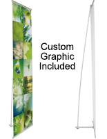 Custom Printed Graphic Portable Banner Display